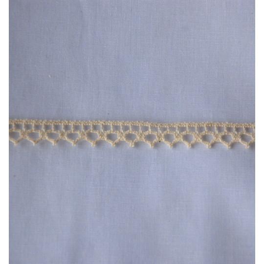 Dentelle coton 1 cm