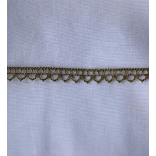 Dentelle coton 1cm