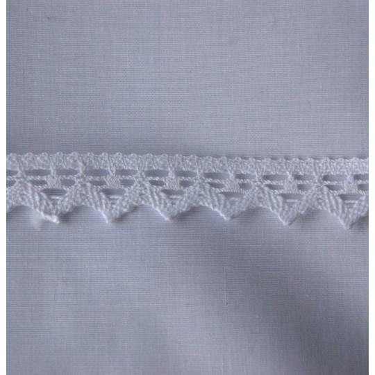 Dentelle coton 2 cm