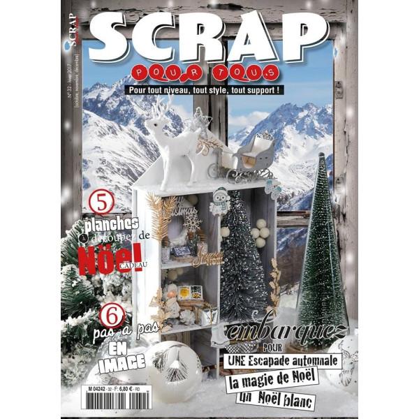 Magazine Scrap pour Tous n°32 - hiver 2017