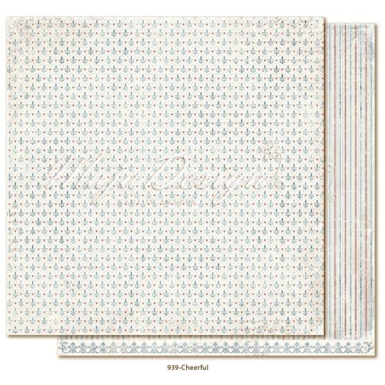 "Papier ""Cheerful"" collection ""Joyous Winterdays"" de Maja Design"