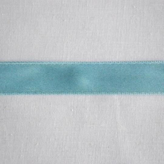 Ruban satin bleu ciel 1.6 cm