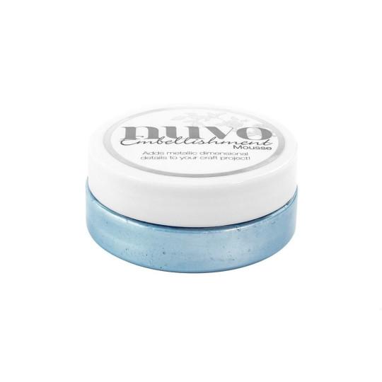 Pâte de texture Embellishment Nuvo - Cornflower Blue