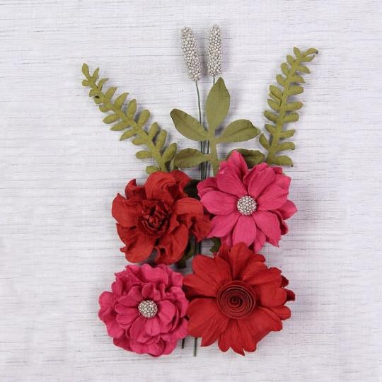 """Fleurs """"Audria Passion"""" de Little Birdie"""