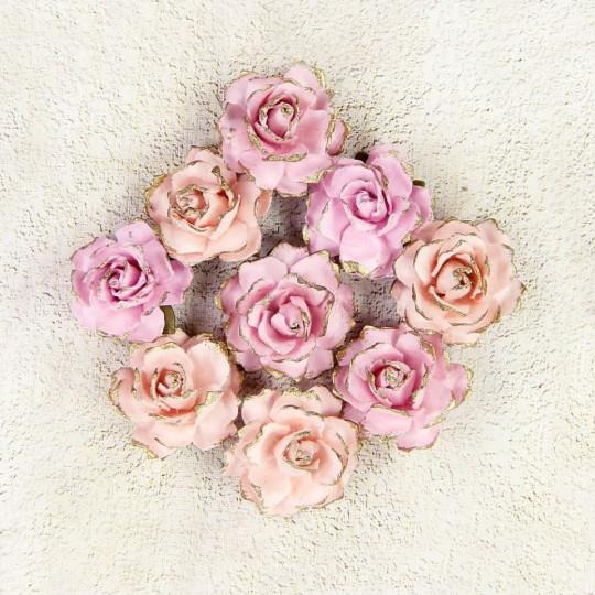 "Fleurs ""Victorian Rosel Blush"" de Little Birdie"