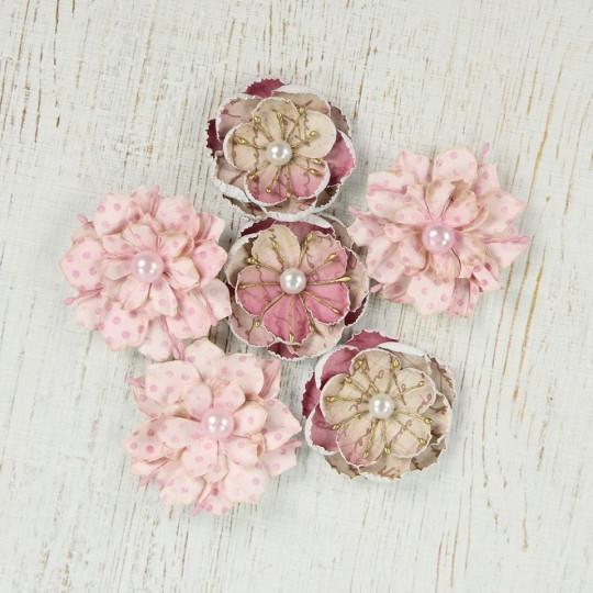 """Fleurs """"Linz Vintage Pink"""" de Little Birdie"""