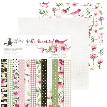 "Bloc 30 x 30 collection ""Hello Beautiful"" de Piatek"