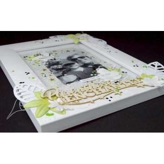 Mots en Carton bois - Parenthèse enchantée 12,8 x 5,2 cm