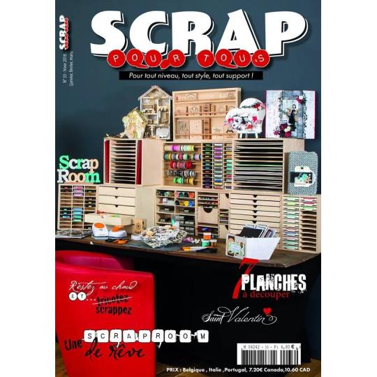 Magazine Scrap pour Tous n°33 - hiver 2018