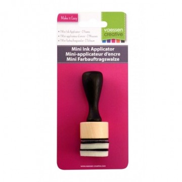 Mini applicateur d'encre rond