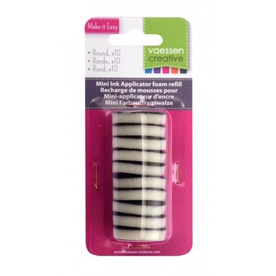 Recharges de mousse pour mini applicateur d'encre