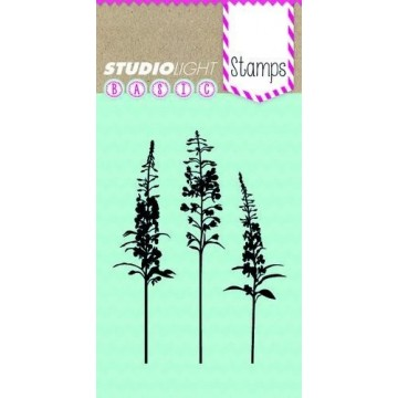 "Tampon clear ""Tiges florales"" Studio Light"