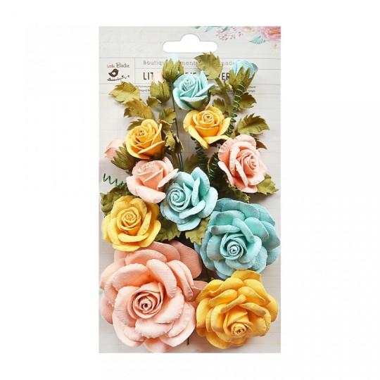 "Fleurs ""Rosalind Pastel"" de Little Birdie"