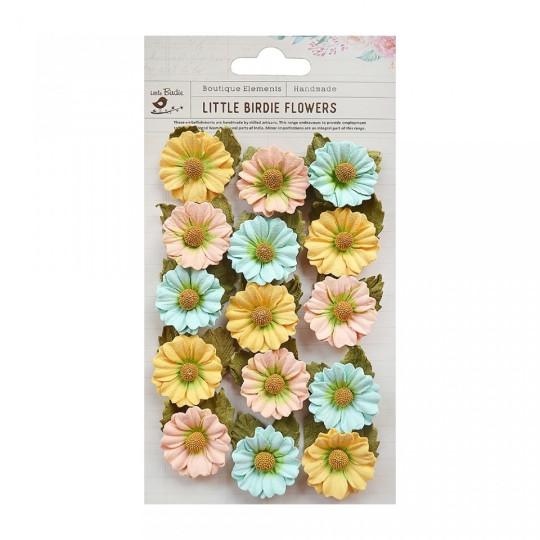 "Fleurs ""Mattina Pastel"" de Little Birdie"