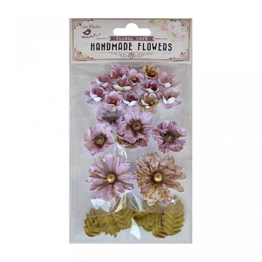 "Fleurs ""Renae Coral Pink"" de Little Birdie"