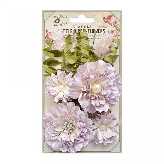 "Fleurs ""Elsie Orchid"" de Little Birdie"