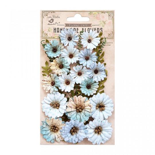 "Fleurs ""Fiorella Blue"" de Little Birdie"
