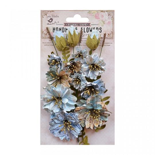 """Fleurs """"Natalie Blue"""" de Little Birdie"""