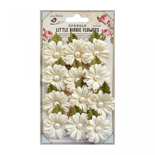 """Fleur """"Valérie Ivory"""" de Little Birdie"""