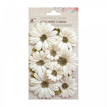 "Fleurs ""Fancy Daisies Moon Light"" de Little Birdie"