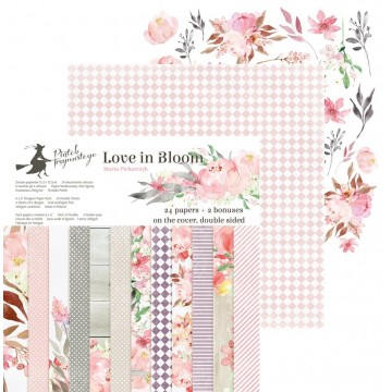 "Bloc 15 x 15 collection ""Love in Bloom"" de Piatek"
