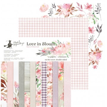 "Bloc 30,5 cm x 30,5 cm collection ""Love in bloom"" de Piatek"