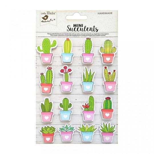 """Stickers 3D """"Cactus"""" de Little Birdie"""