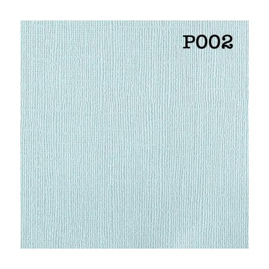 """Cardstock 30 x 30  """"Pearl bleu ciel"""""""