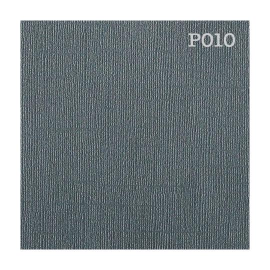 """Papier cardstock uni 30x30 """"Pearl gris foncé"""""""