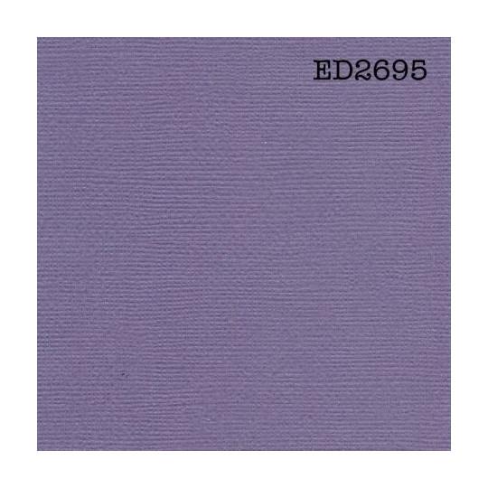 """Papier cardstock uni 30x30 """"Violine foncé"""""""