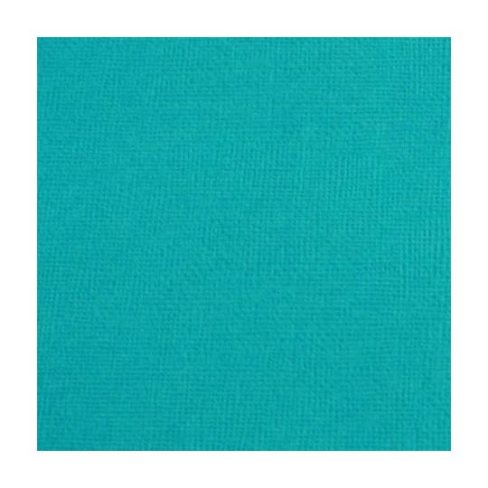 """Cardstock 30 x 30 """"Turquoise foncé"""""""
