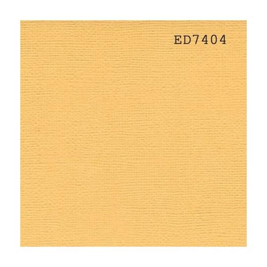 """Papier cardstock uni 30x30 """"Jaune aurore"""""""