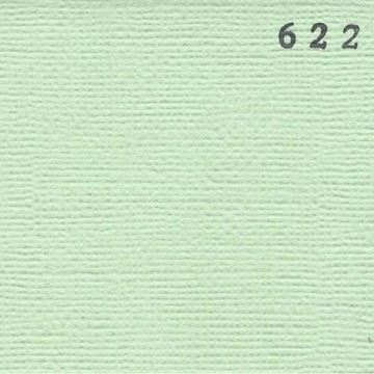 "Papier cardstock uni 30x30 ""Vert celadon"""