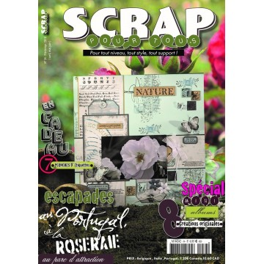 Magazine Scrap pour Tous n°34 - printemps 2018