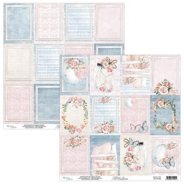 "Papier étiquettes collection ""7 Th Heaven"" de Mintay"
