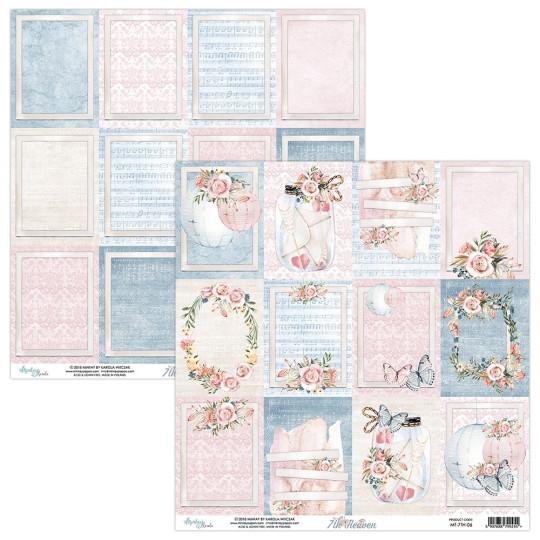 """Papier étiquettes collection """"7 Th Heaven"""" de Mintay"""