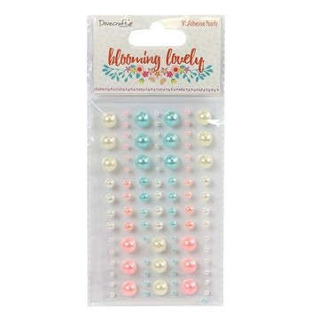 "Perles adhésives ""Blooming Lovely"" Dovecraft"