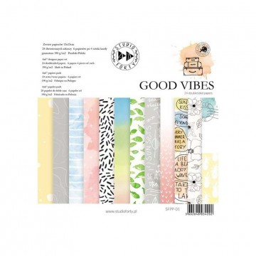 "Bloc 15 x 15 collection ""Good Vibes"" de Studio Forty"