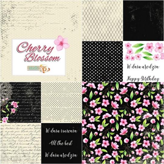 "Bloc 15 x 15 collection ""Cherry Blossom"" de Studio 75"