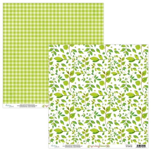 """Papier 03 collection """"Springtime"""" de Mintay"""