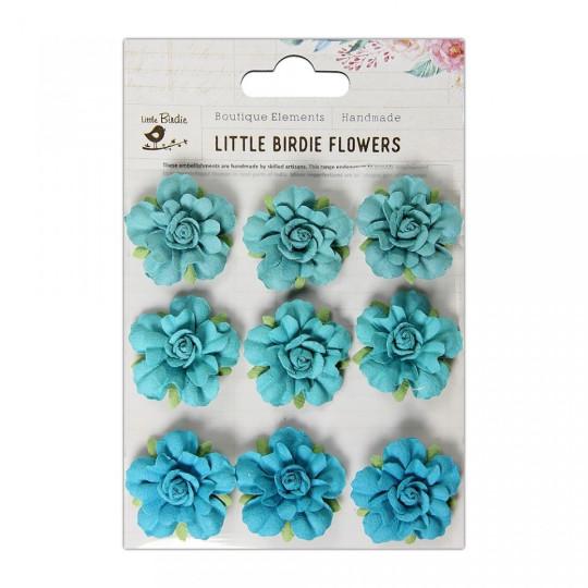 """Fleurs """"Vincy Blue Jay"""" de Little Birdie"""