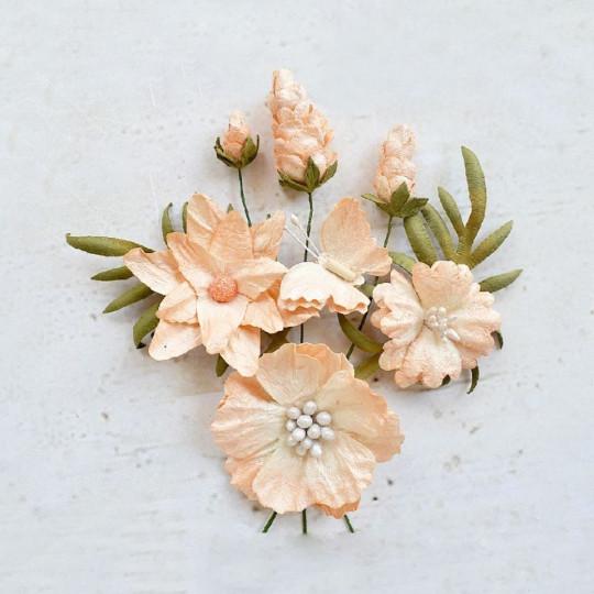 """Fleurs """"Arielle ivory"""" de Little Birdie"""