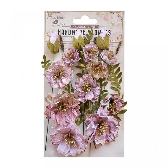 "Fleurs ""Natalie pink"" de Little Birdie"