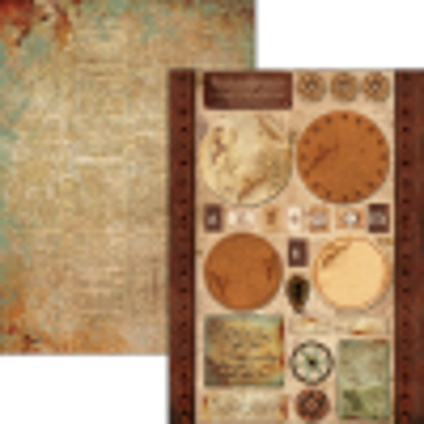 """Set de 10 papiers A4 collection """"Codex Léonardo"""" de Ciao Bella"""