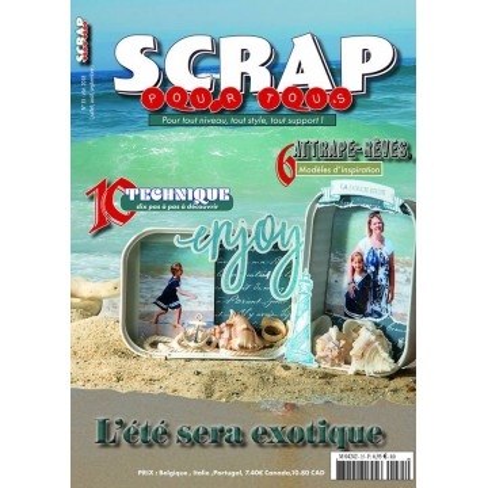 Magazine Scrap pour Tous n°35 - été 2018