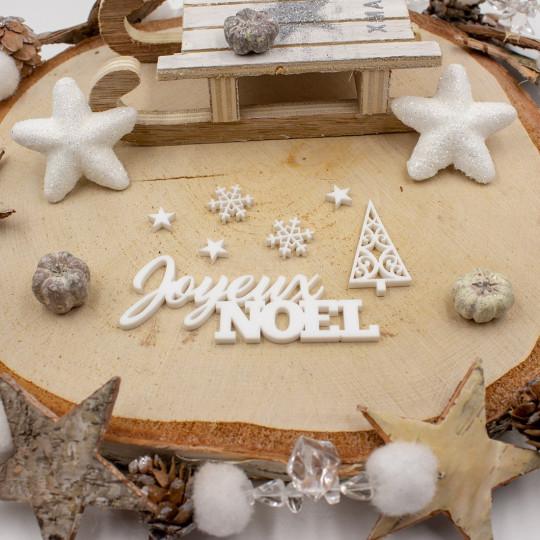 Set Joyeux Noël acrylique...