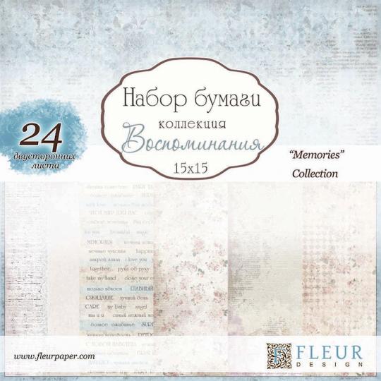 "Bloc 15 x 15 ""Memories"" de Fleur Design"