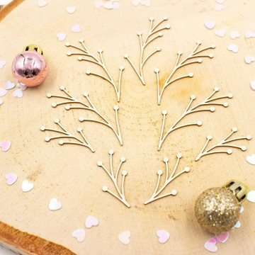 Chipboards branches petites...