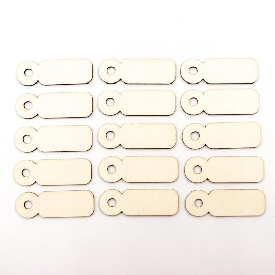 Flipettes en carton bois de marque scrapmouset pour scrapbooking