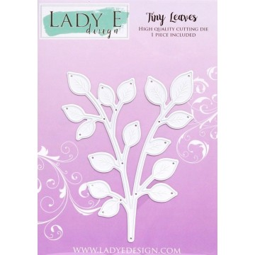 Matrice de découpe Tiny Leaves LADY E DESIGN